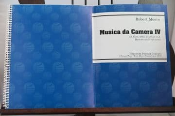 Moevs R - Musica da Camera IV for Flute Oboe Clarinet in A Bassoon & Violoncello